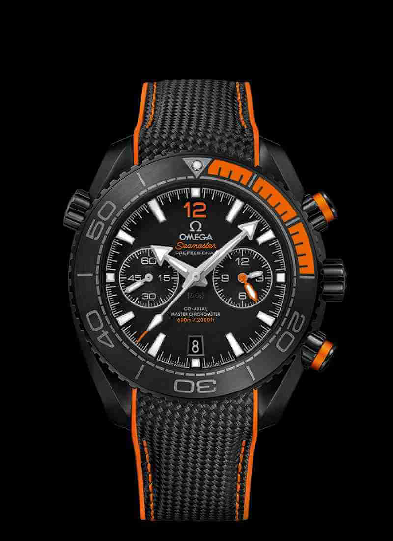 OMEGA Seamaster Planet Ocean 600M Co-Axial Master Chronometer Chronograph 45.5mm 215.92.46.51.01.001