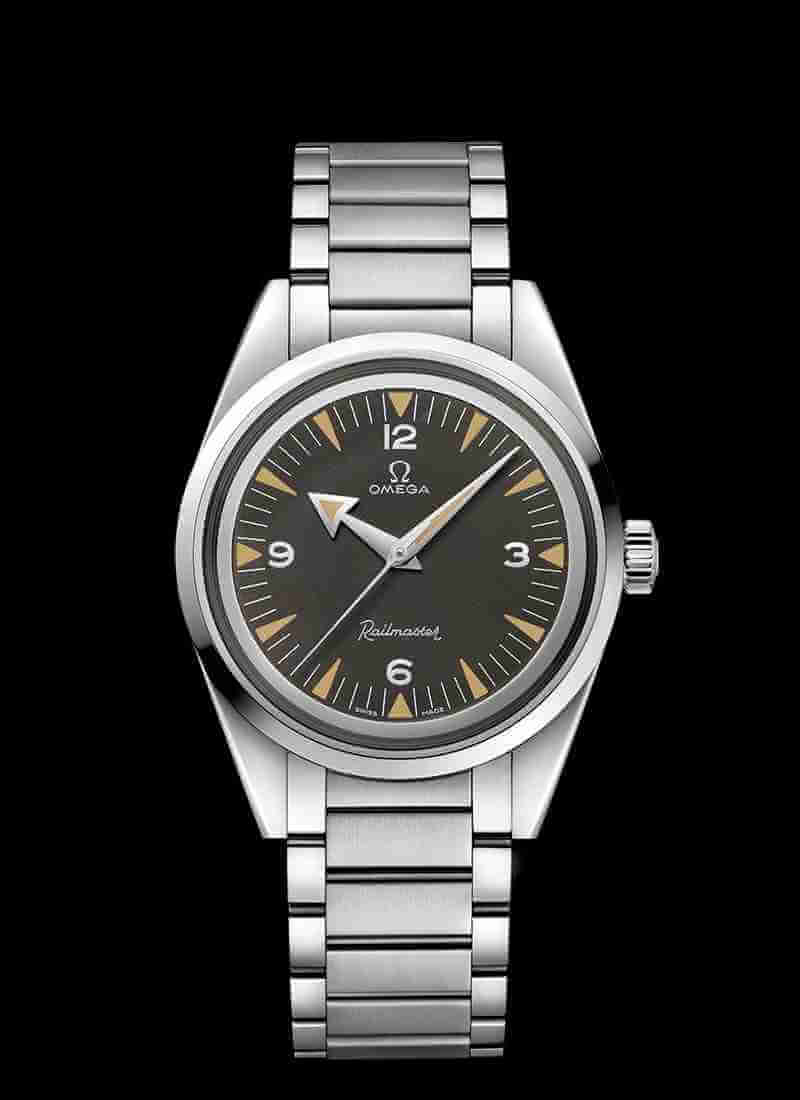 OMEGA Seamaster Railmaster Co-Axial Master Chronometer 38mm 220.10.38.20.01.002