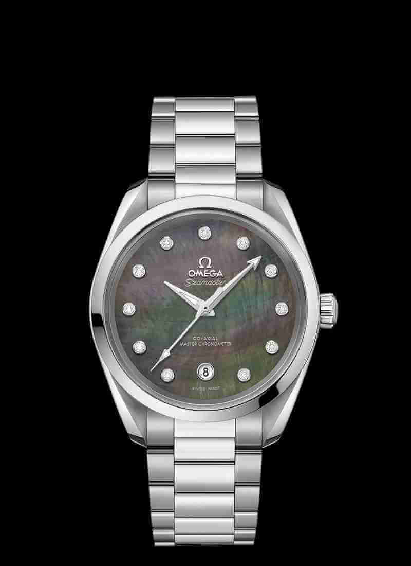 OMEGA Seamaster Aqua Terra 150M Co-Axial Master Chronometer Ladies 38mm 220.10.38.20.57.001