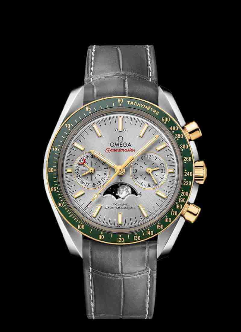 OMEGA Speedmaster Moonwatch Co-Axial Master Chronometer Moonphase Chronograph 44.25mm 304.23.44.52.06.001