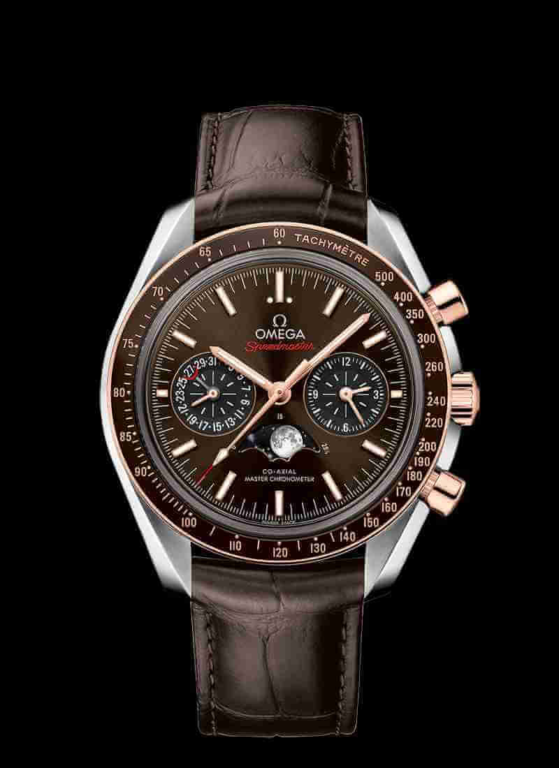 OMEGA Speedmaster 304.23.44.52.13.001 Co-Axial Master Chronometer Moonphase Chronograph 44.25mm