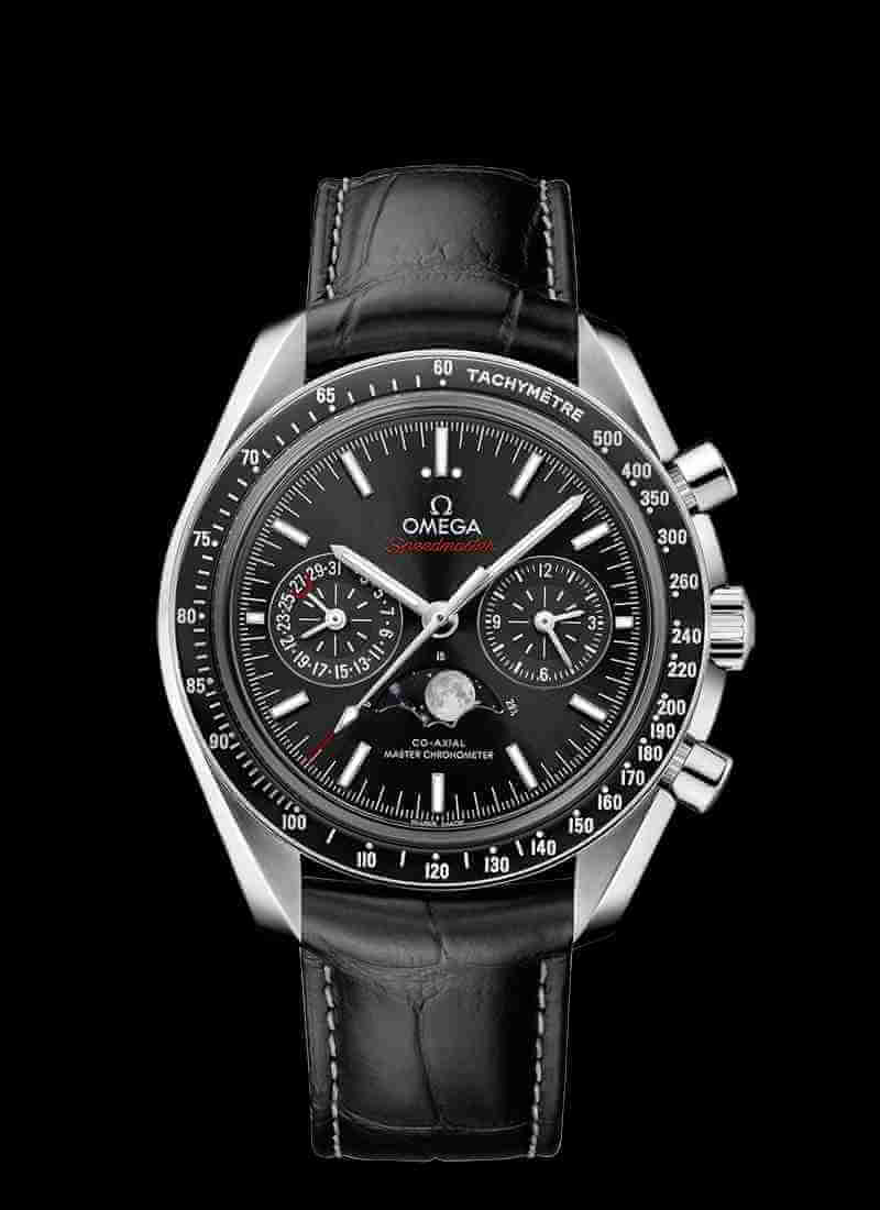 OMEGA Speedmaster Moonwatch Co-Axial Master Chronometer Moonphase 304.33.44.52.01.001 44.25mm
