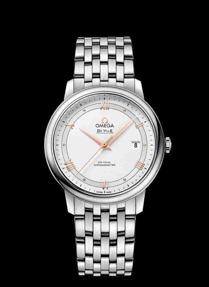 OMEGA De Ville 424.10.40.20.02.002 Prestige Co-Axial 39.5mm