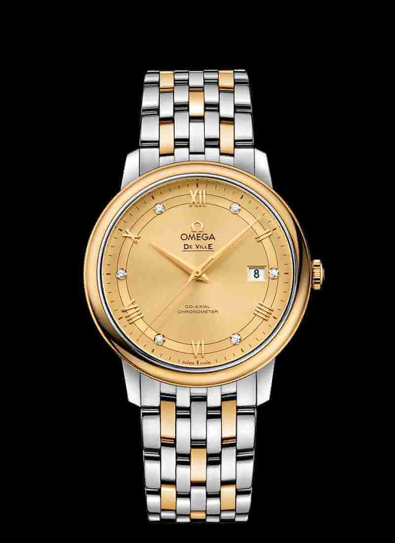 OMEGA De Ville Prestige Co-Axial 39.5mm watch 424.20.40.20.58.001