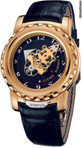 ulysse nardin freak 28'800 vh mens watch replica