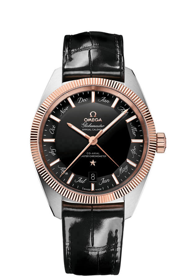 OMEGA Constellation Steel Sedna Gold Annual calendar 130.23.41.22.01.001