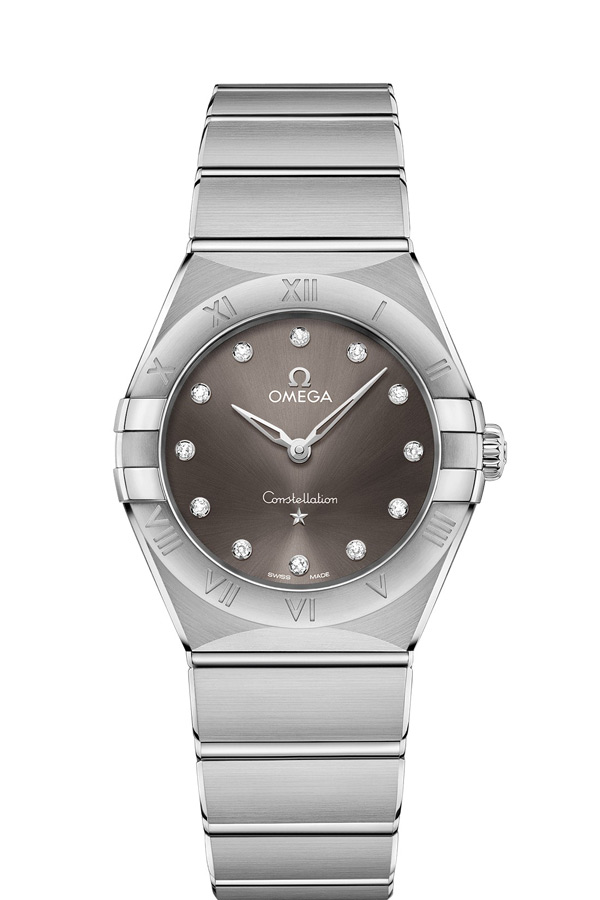 OMEGA Constellation Steel Diamonds 131.10.28.60.56.001