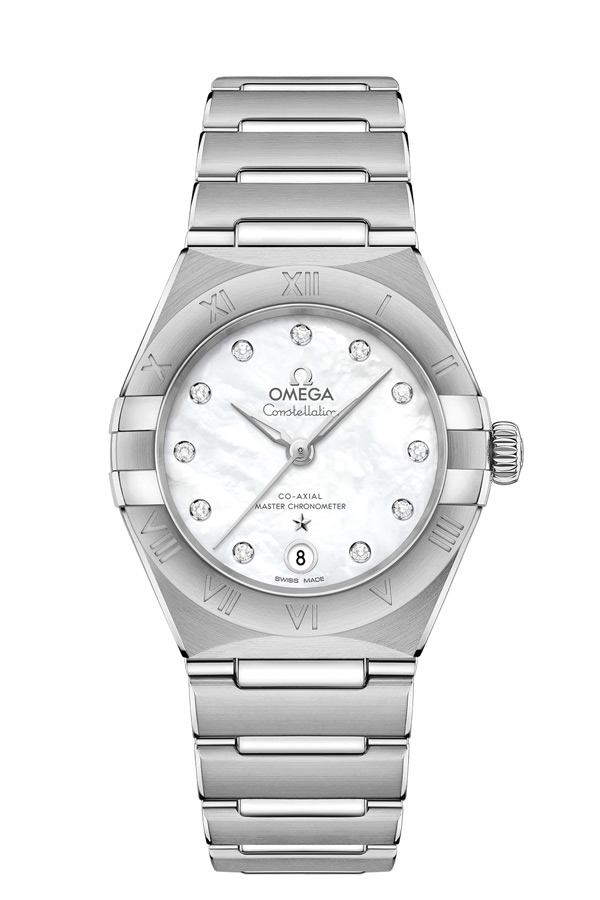 OMEGA Constellation Steel Anti-magnetic 131.10.29.20.55.001
