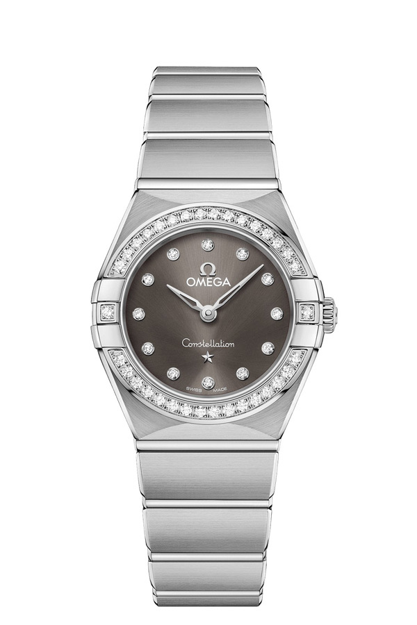 OMEGA Constellation Steel Diamonds 131.15.25.60.56.001