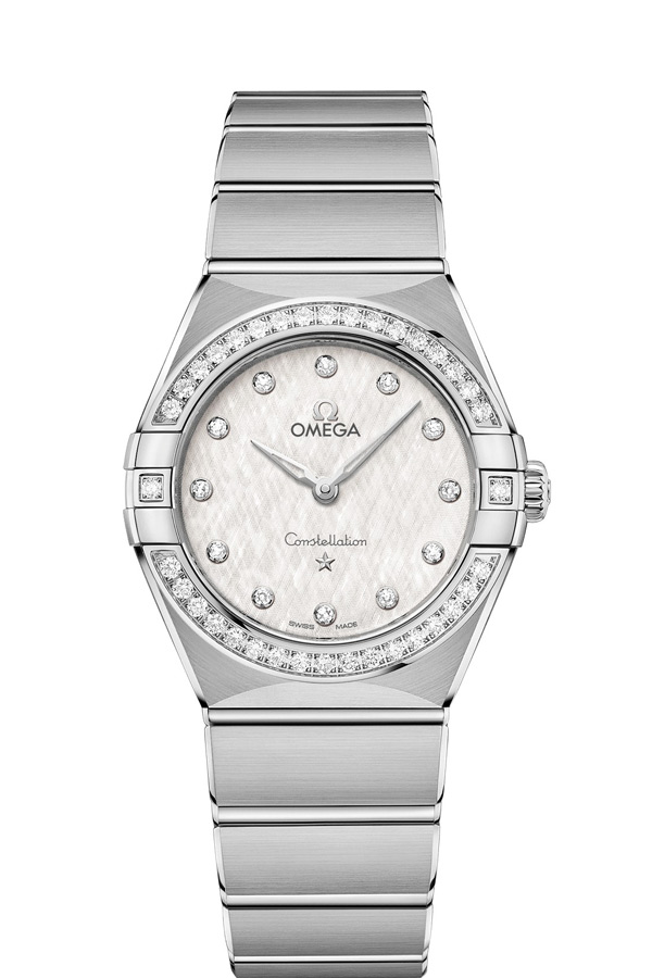 OMEGA Constellation Steel Diamonds 131.15.28.60.52.001