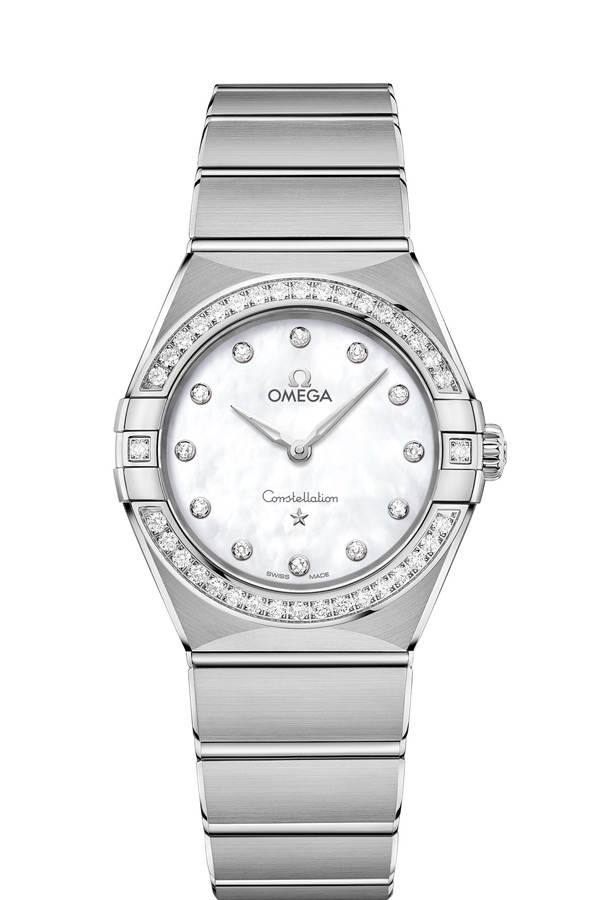 OMEGA Constellation Steel Diamonds 131.15.28.60.55.001