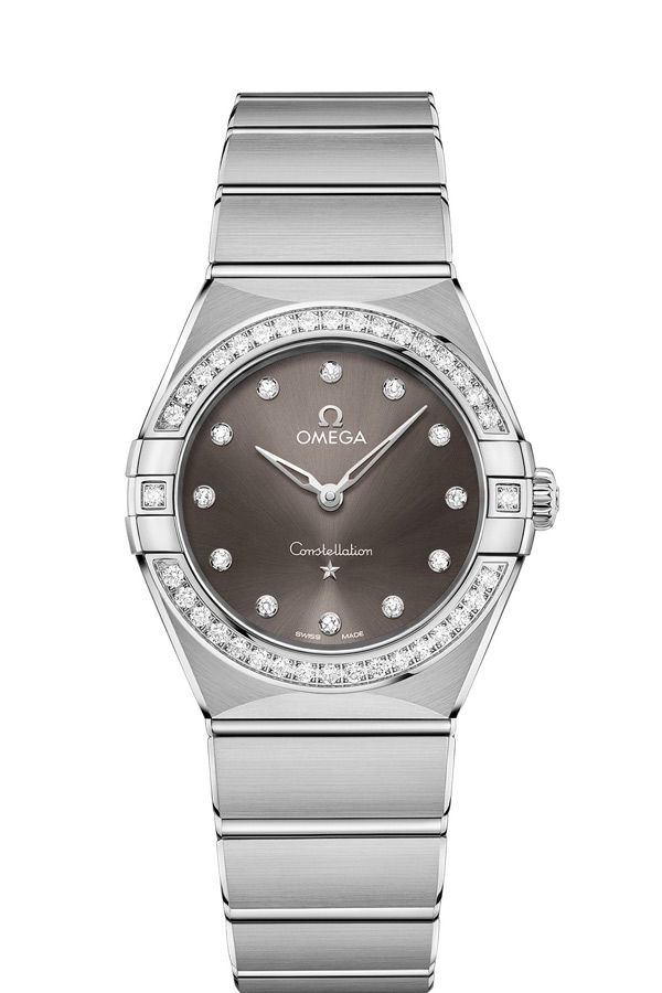 OMEGA Constellation Steel Diamonds 131.15.28.60.56.001