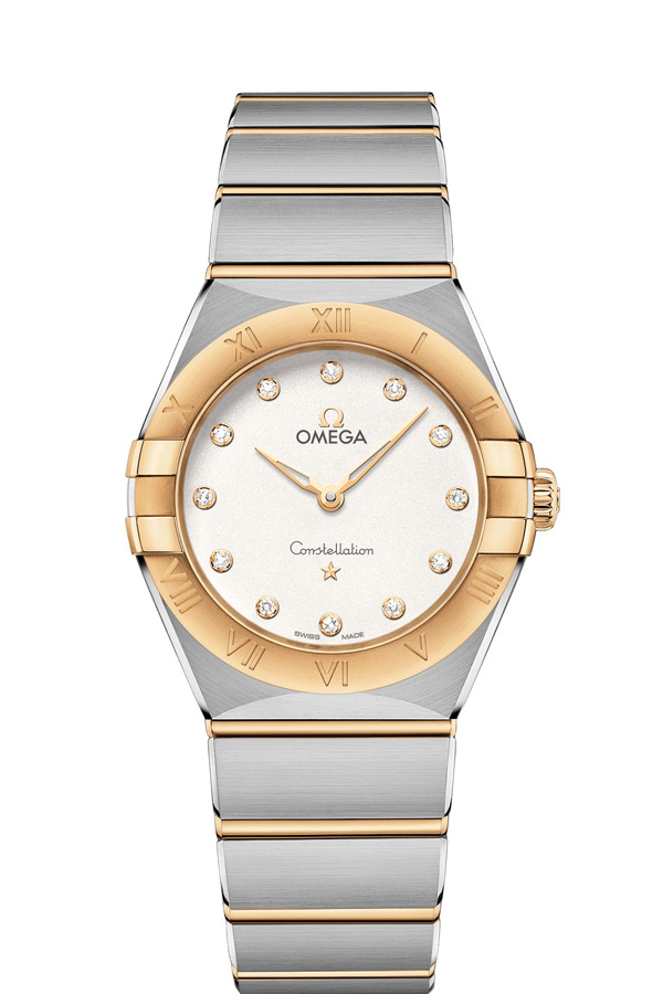 OMEGA Constellation Steel yellow gold Diamonds 131.20.28.60.52.002
