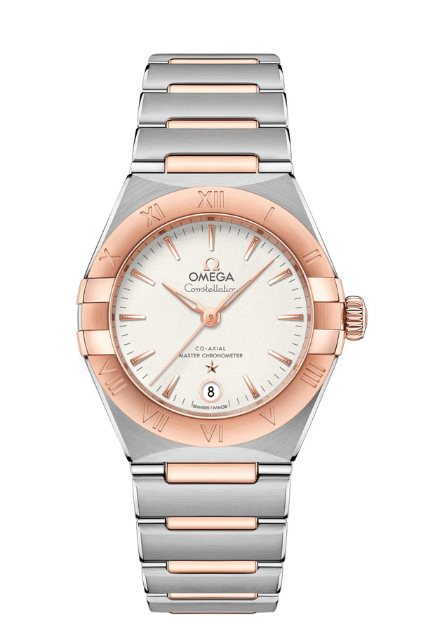 OMEGA Constellation Steel Sedna Gold Anti-magnetic 131.20.29.20.02.001