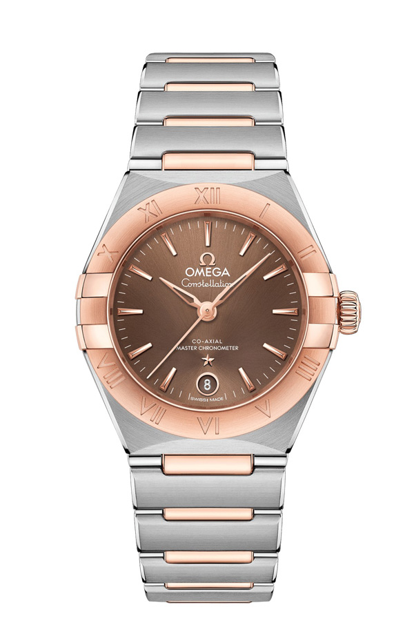 OMEGA Constellation Steel Sedna Gold Anti-magnetic 131.20.29.20.13.001