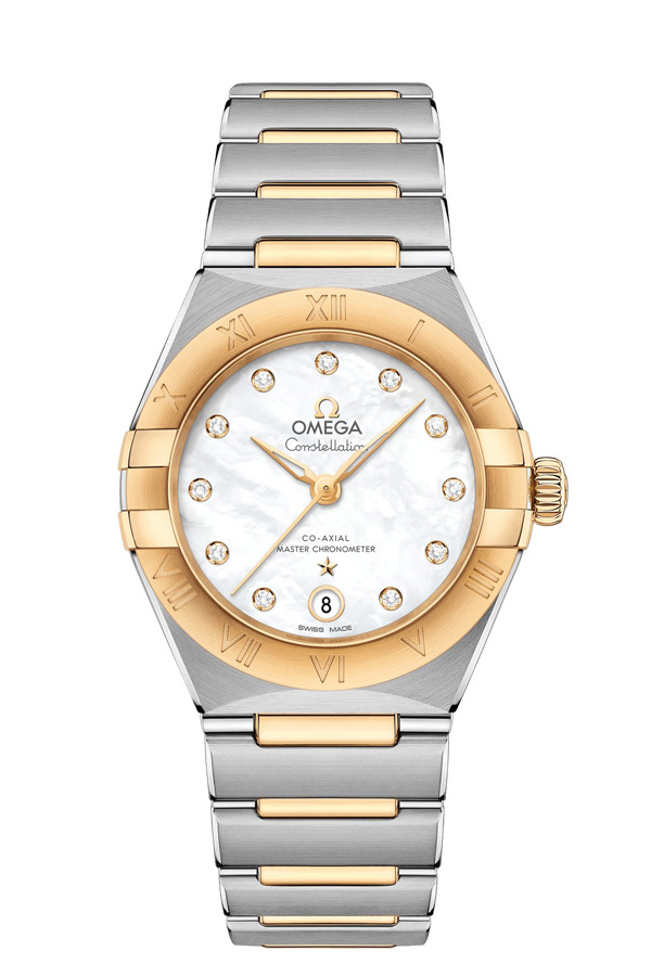 OMEGA Constellation Steel yellow gold Anti-magnetic 131.20.29.20.55.002