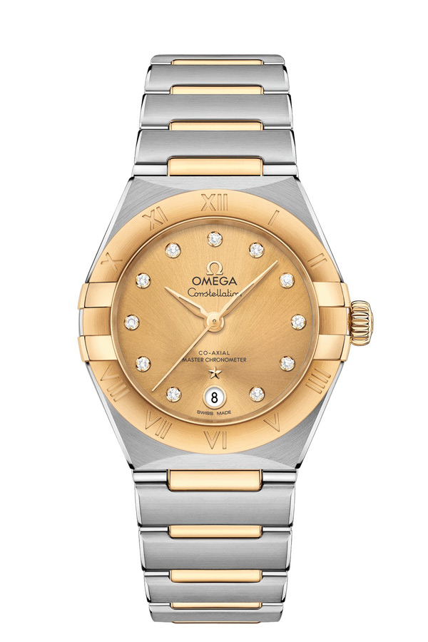 OMEGA Constellation Steel yellow gold Anti-magnetic 131.20.29.20.58.001