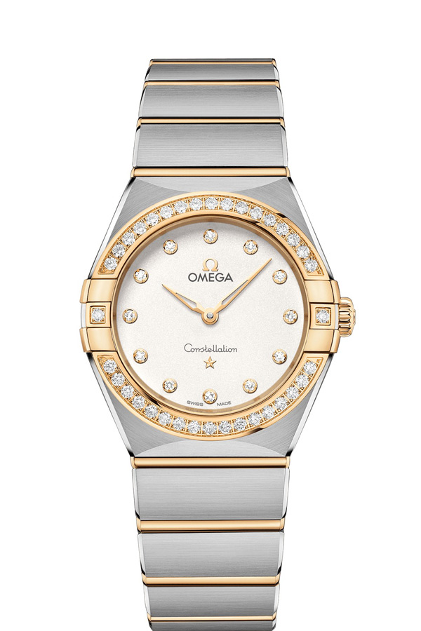 OMEGA Constellation Steel yellow gold Diamonds 131.25.28.60.52.002