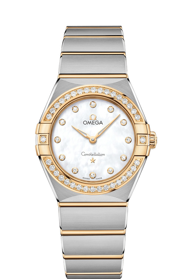 OMEGA Constellation Steel yellow gold Diamonds 131.25.28.60.55.002