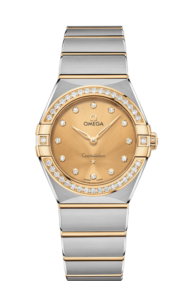 OMEGA Constellation Steel yellow gold Diamonds 131.25.28.60.58.001