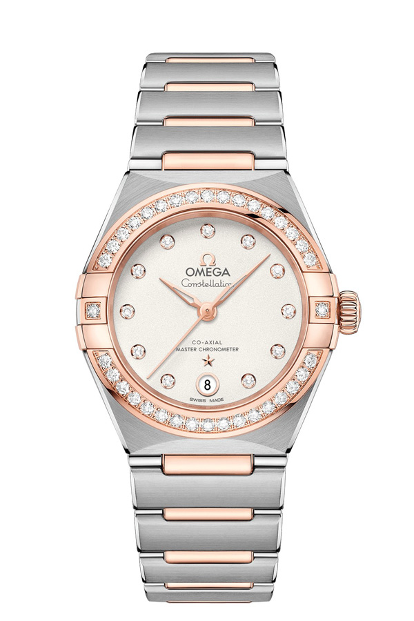 OMEGA Constellation Steel Sedna Gold Anti-magnetic 131.25.29.20.52.001