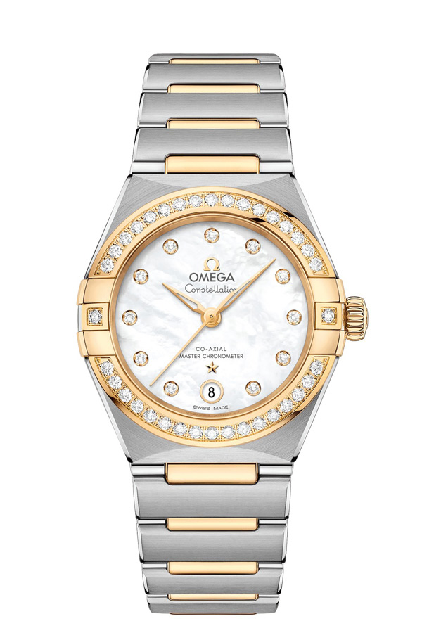 OMEGA Constellation Steel yellow gold Anti-magnetic 131.25.29.20.55.002