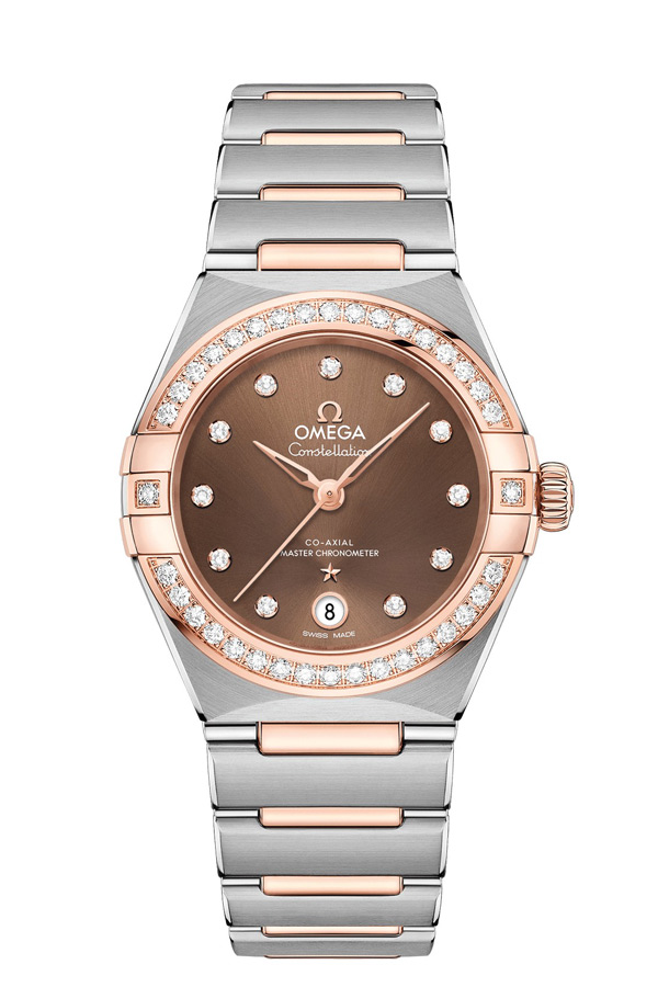 OMEGA Constellation Steel Sedna Gold Anti-magnetic 131.25.29.20.63.001