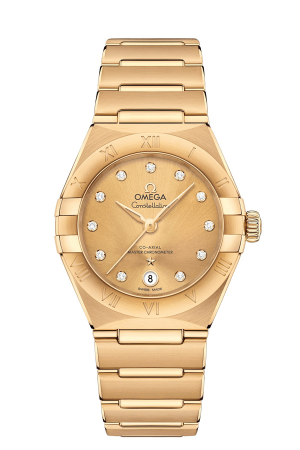 OMEGA Constellation Yellow gold Anti-magnetic 131.50.29.20.58.001