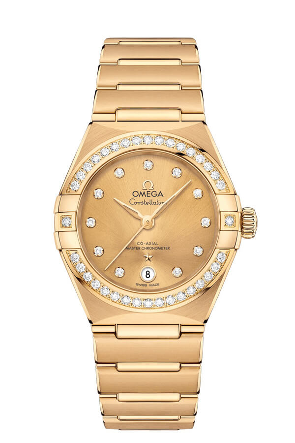 OMEGA Constellation Yellow gold Anti-magnetic 131.55.29.20.58.001