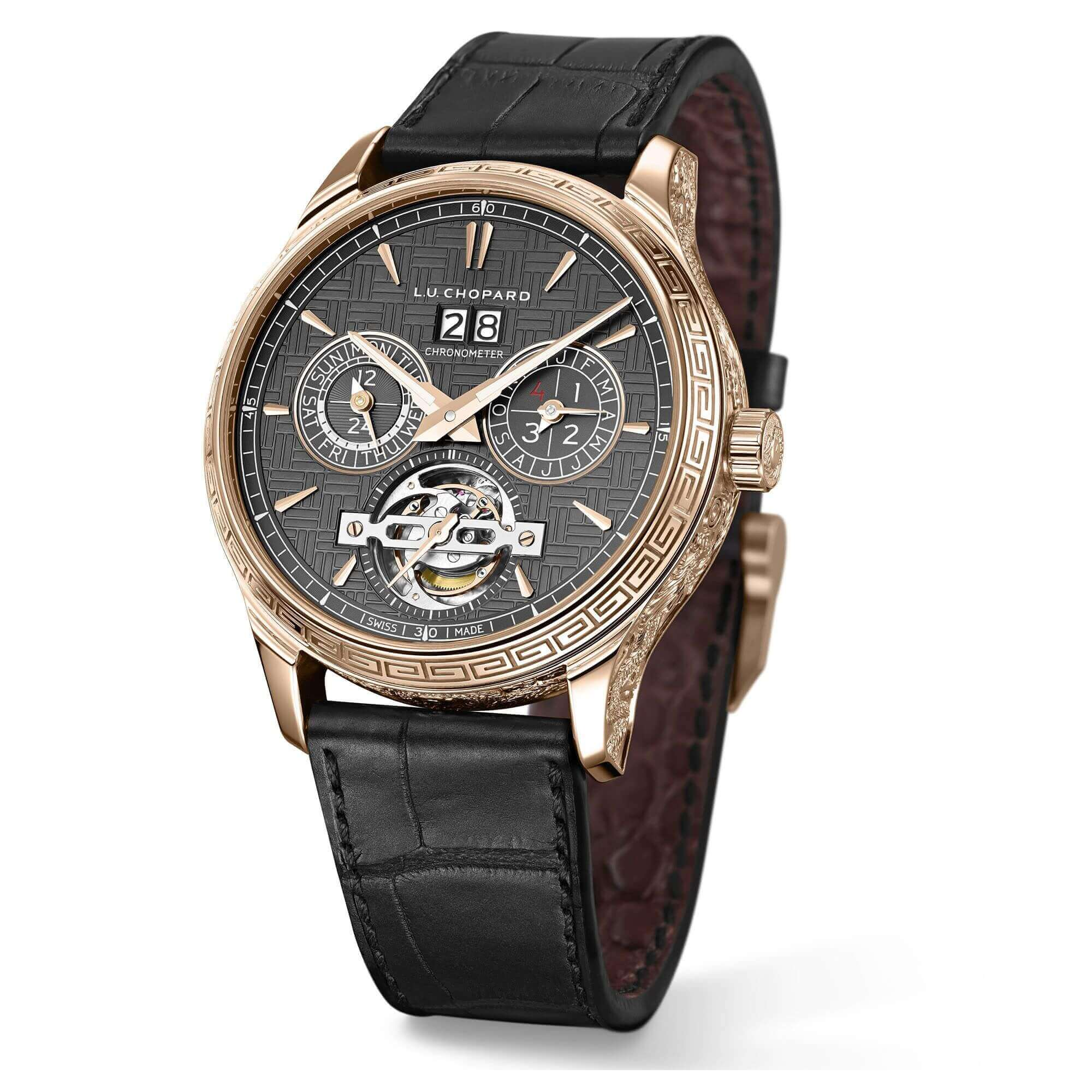Chopard L.U.C Perpetual T Spirit Of The Dragon And The Pearl Reproduction