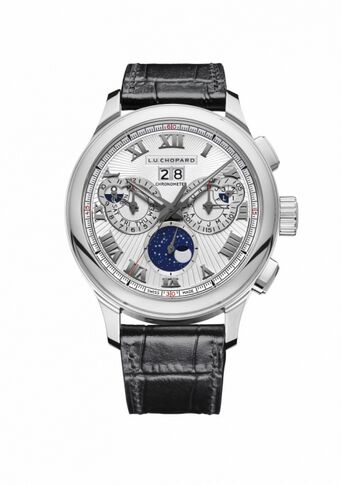 Chopard L.U.C Perpetual Chrono 45MM Manual White Gold Limited Edition Reproduction