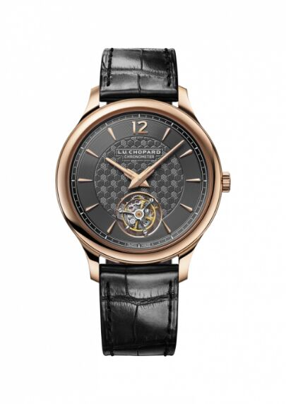Chopard L.U.C Flying T Twin 18K Ethically Certified Rose Gold Limited Edition Reproduction