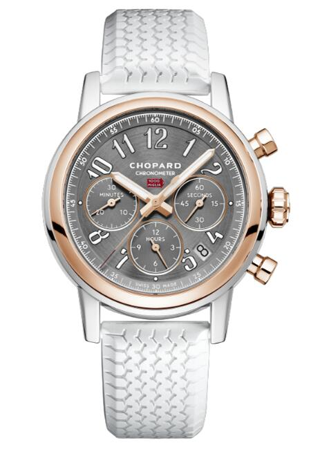 Chopard Mille Miglia Classic Chronograph Stainless Steel 18K Rose Gold 168588-6001 Reproduction