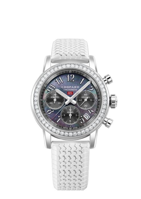 Chopard Mille Miglia Chronograph Stainless Steel & Diamonds 178588-3002 Reproduction