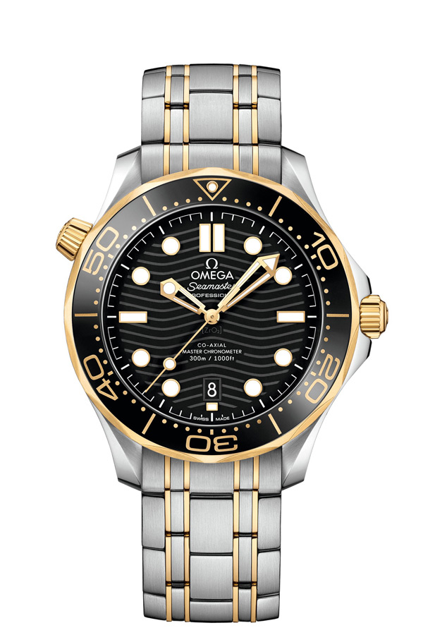 OMEGA Seamaster Steel yellow gold Chronometer 210.20.42.20.01.002