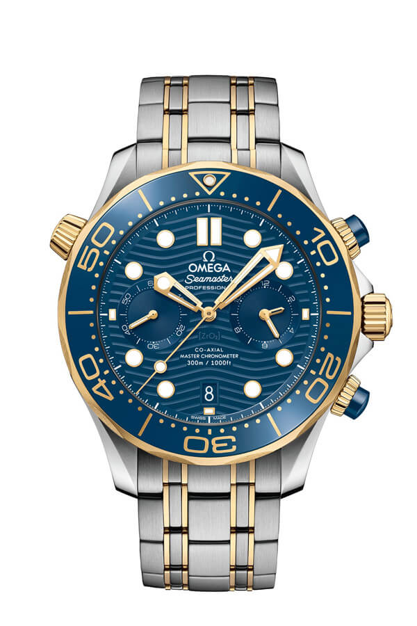 OMEGA Seamaster Steel yellow gold Anti-magnetic 210.20.44.51.03.001