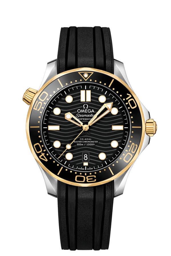 OMEGA Seamaster Steel yellow gold Chronometer 210.22.42.20.01.001