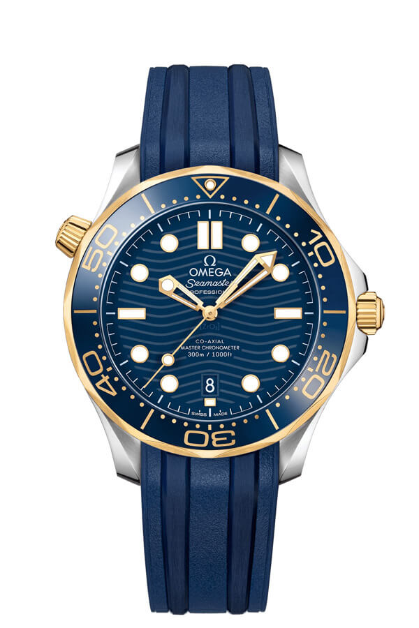 OMEGA Seamaster Steel yellow gold Chronometer 210.22.42.20.03.001