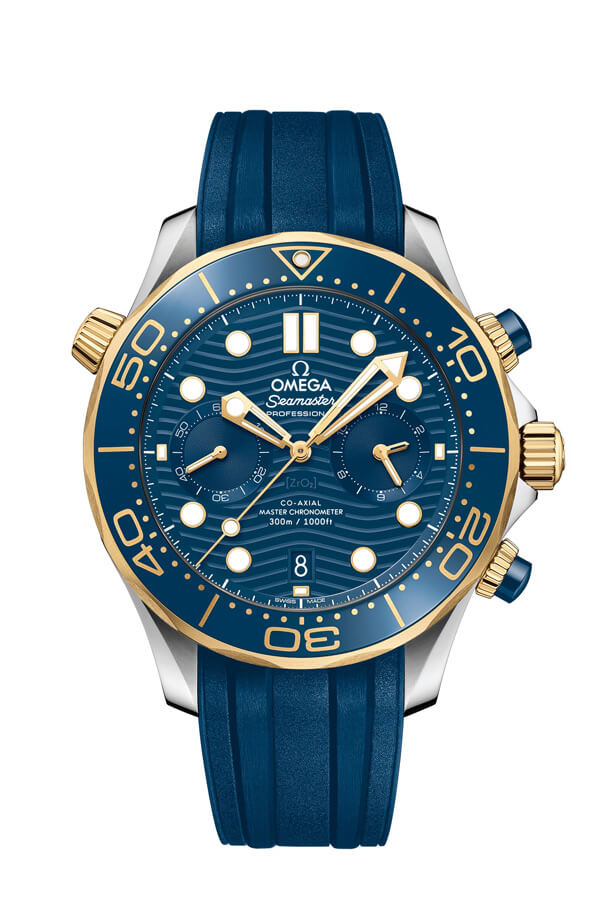 OMEGA Seamaster Steel yellow gold Anti-magnetic 210.22.44.51.03.001