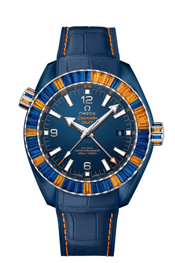 OMEGA Seamaster Blue ceramic 24 hours GMT 215.98.46.22.03.001