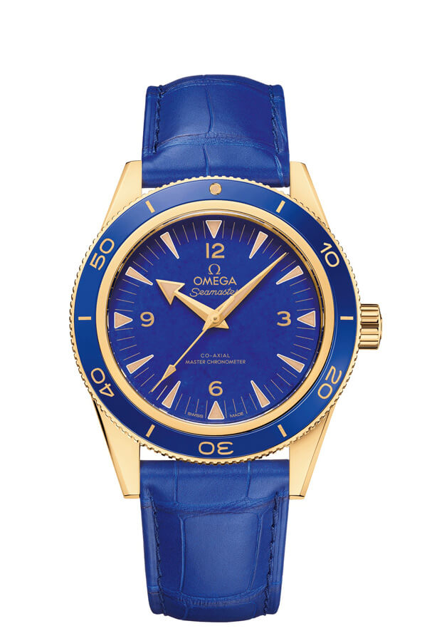OMEGA Seamaster Yellow gold Anti-magnetic 234.63.41.21.99.002
