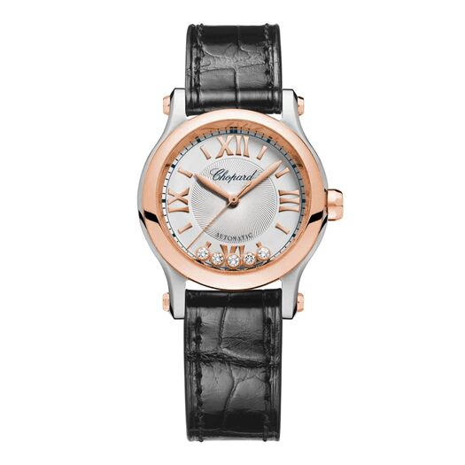Chopard Happy Sport Automatic Silver Dial Ladies Reproduction