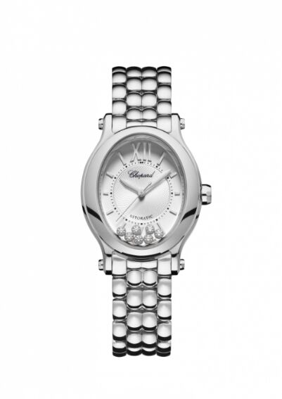 Chopard Happy Sport Oval Stainless Steel And Diamonds Reproduction
