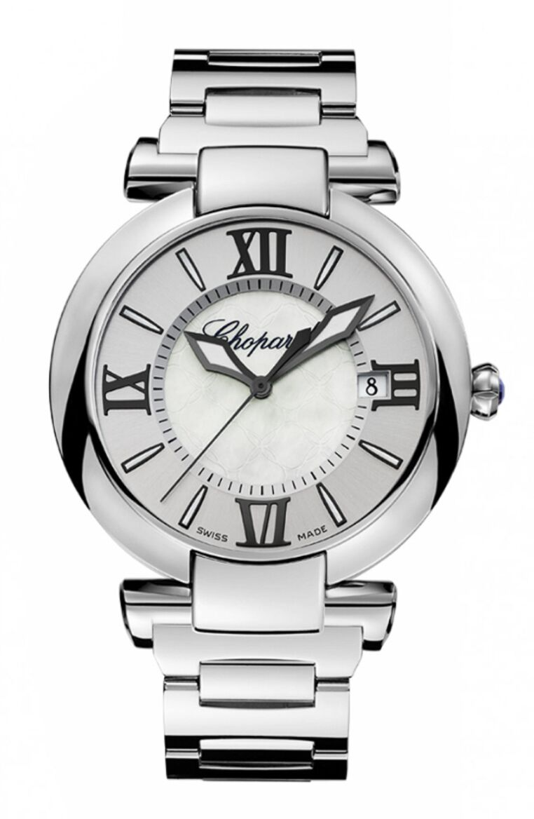 Chopard Imperiale Automatic 36mm Mother of Pearl Diamond Leather Strap Women's Reproduction
