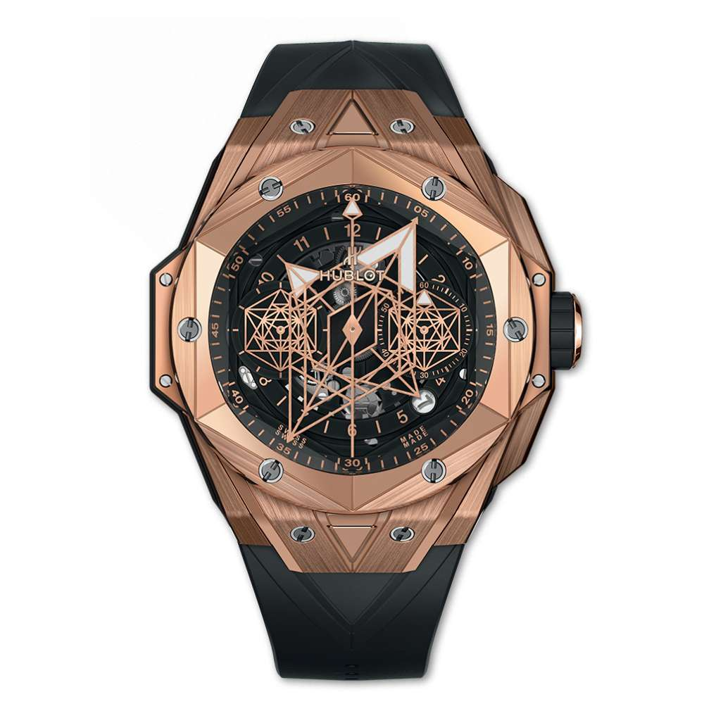 Hublot Big Bang Unico Sang Bleu II King Gold Reproduction