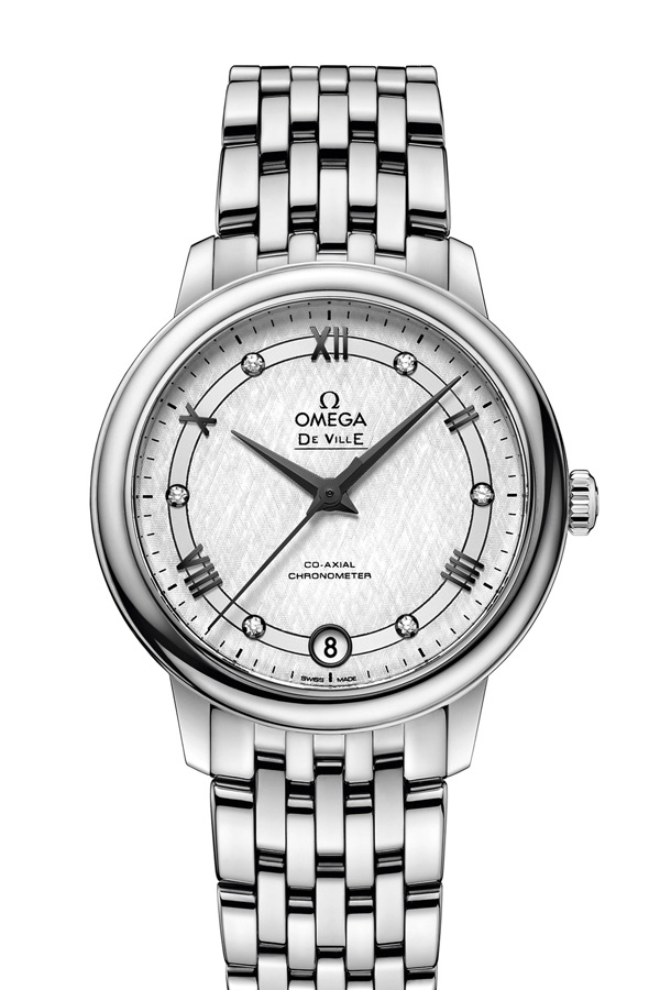 OMEGA De Ville Steel Chronometer 424.10.33.20.52.002