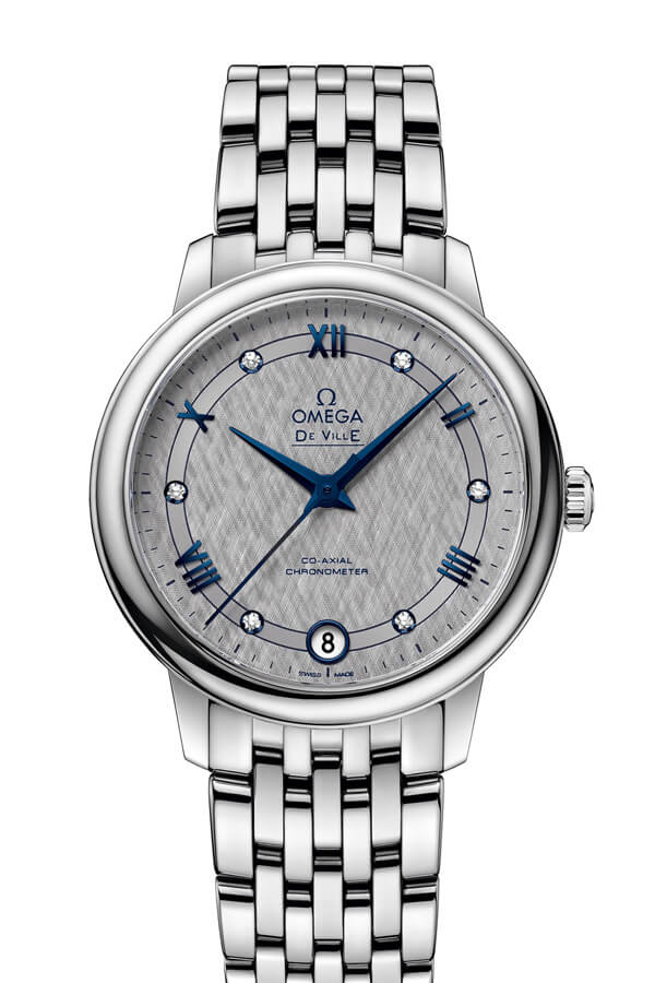OMEGA De Ville Steel Chronometer 424.10.33.20.56.002