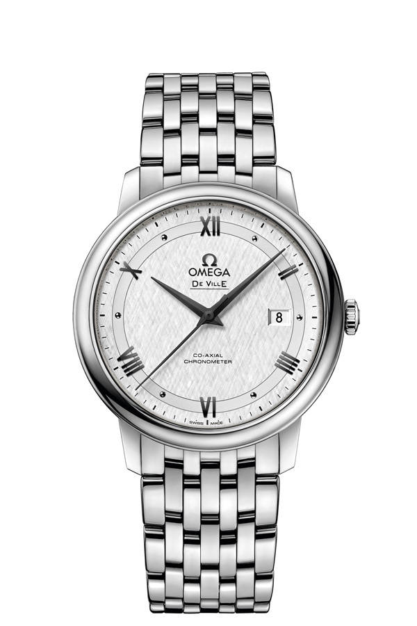 OMEGA De Ville Steel Chronometer 424.10.40.20.02.005