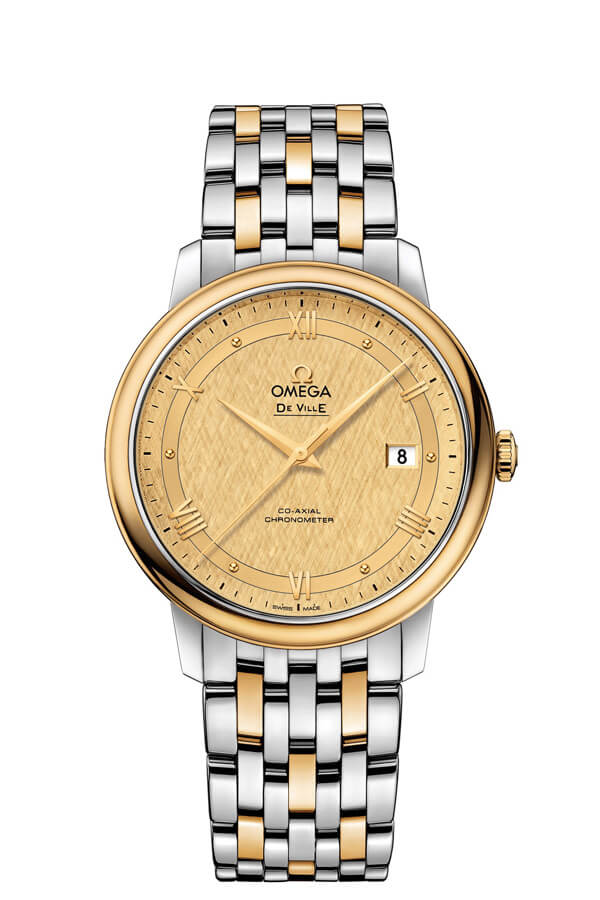 OMEGA De Ville Steel yellow gold Chronometer 424.20.40.20.08.001