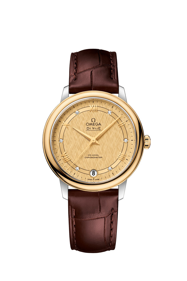 OMEGA De Ville Steel yellow gold Chronometer 424.23.33.20.58.001